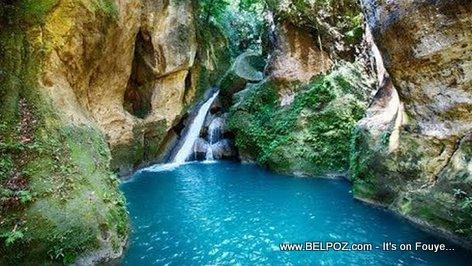 Bassin Bleu Waterfall - Famous Waterfalls in Haiti
