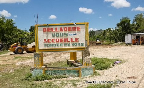 Belladere Haiti, the welcome sign and a little bit of history...