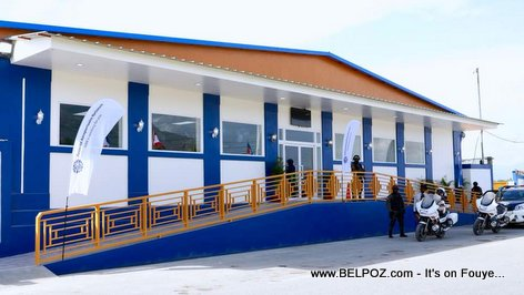 New Arrivals Area at Cap-Haitien International Airport in the northern city of Cap Haitien, Haiti