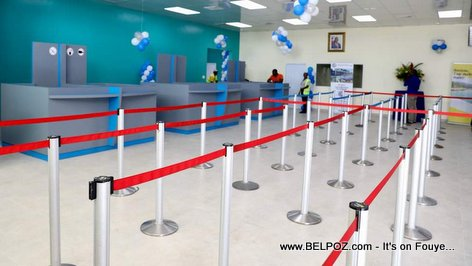 A look inside the new Arrivals area at Cap-Haitien International Airport in Northern Haiti