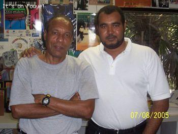 Emmanuel Ardouin, Woodring Saint Preux, Antenne 88, Miami