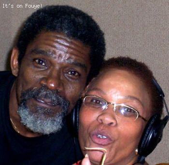 Monique Souvenir (Fannie) & Manno Charlemagne @  Radio Mega