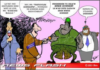 Haitian Political Cartoon by Freo