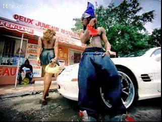 Trina, Lil Wayne in Little Haiti