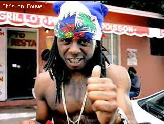 Rap Star Lil Wayne in Little Haiti