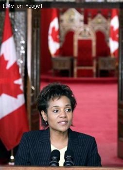 Michaelle Jean on her inaugural speech