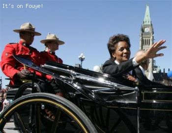 Michaelle Jean Governor of canada