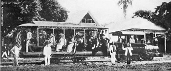 Haiti Railroads - Urban Rail Way, Haiti 1876