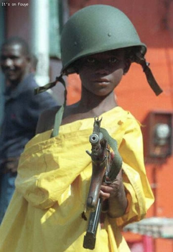 Kid With Guns, Haiti Kids