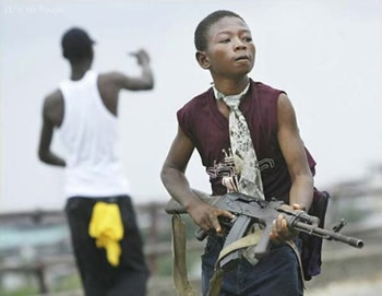 Cite Soleil Kids With Real Guns