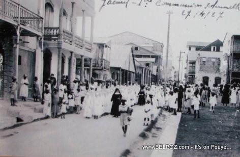 Premiere Communion, Jacmel Haiti 1927