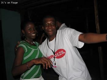 Eating and Dancing in jacmel