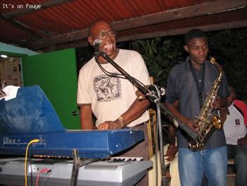 Keyboard player Jacmel haiti