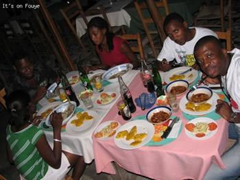 dining in jacmel Haiti
