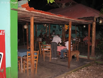 outdoor restaurant jacmel haiti