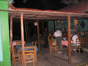 outdoor restaurant jacmel haiti