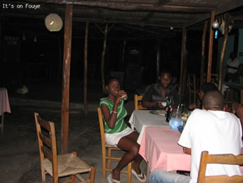 eating in jacmel Haiti