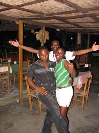 dancing in jacmel Haiti