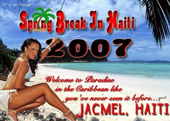 Spring Break 2007, Jacmel Haiti