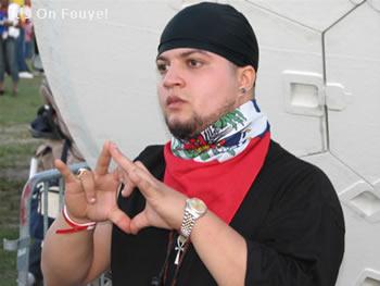 Haitian Rapper Freedom