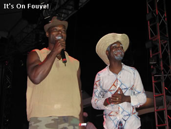 Tonto Bicha And Holywood Actor Jimmy Jean Louis