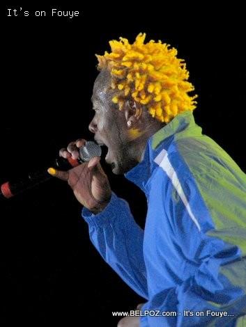 Haitian Singer Gazman Couleur