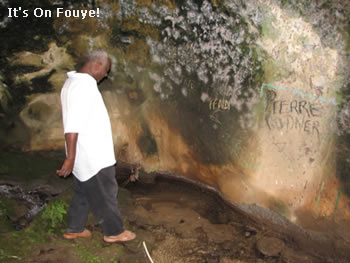 Cave in Bassin Zim Haiti
