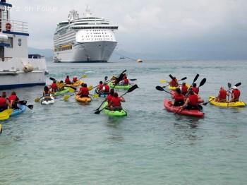 Labadee Haiti - Royal Caribbean Cruise Line Haiti Kayak Adventure