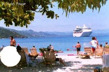 Royal Caribbean Grandeur of The Seas at Labadee Haiti