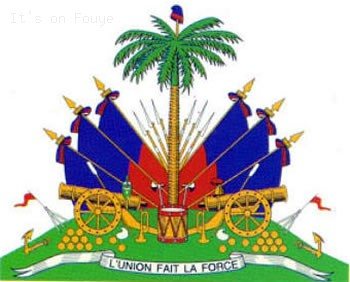 Haiti Flag Picture - The Coat of Arms