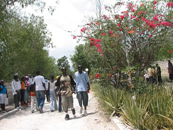 Haiti beach party