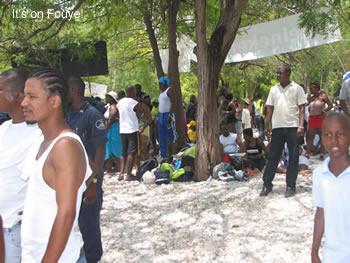Haiti at the beach