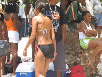 caribbean vacation at the beach
