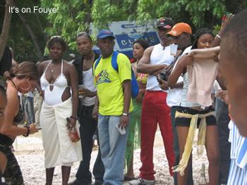 Hispaniola beach party