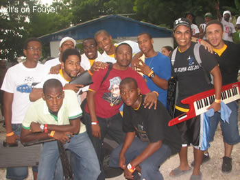 Haitian musicians