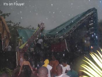 la pli tonbe, festival la gate