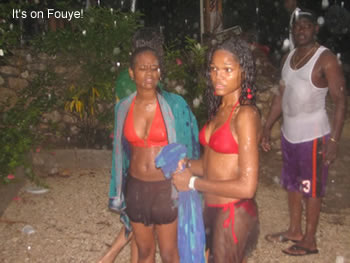 haiti girls are wet