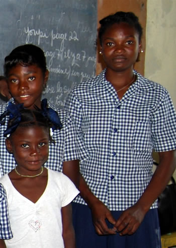 Haiti eleve ecole