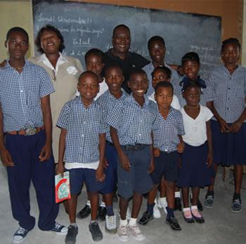 School Children in Haiti