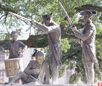 Haitian Monument in Savannah GA