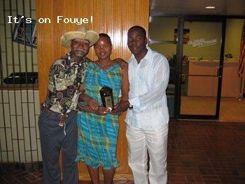 Tonton Bicha @  the Haitian Entertainment Awards