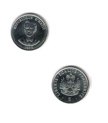 5 Centimes 5 Kob Haiti Coins