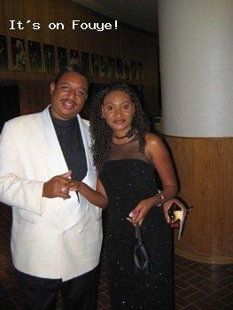 Raynald Delerme, Fabienne Colas @ the Haitian Entertainment Awards