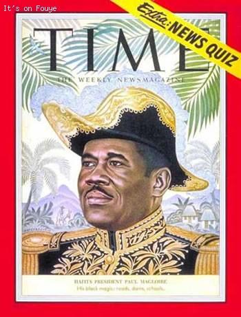 Time Magazine - Haiti President Magloire