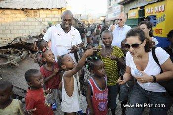 Celebrities in Haiti