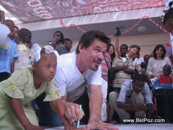 Hollywood Celebrities in Haiti