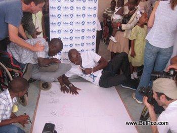 Jimmy Jean Louis in Haiti