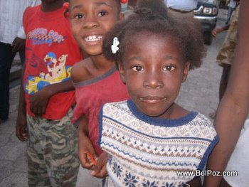 Kids in Haiti