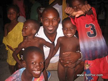Jimmy Jean Louis and Haiti Kids