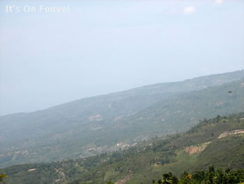 Mountains Jacmel Haiti